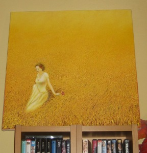 One of Michael's paintings that I bought!