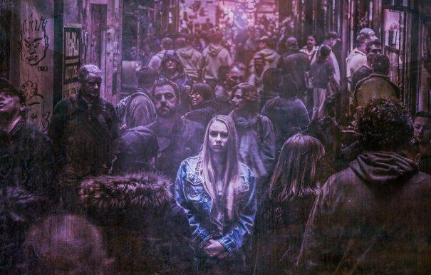 woman alone in city cropped ramona