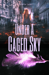 Under A Caged Sky pink feather tinted