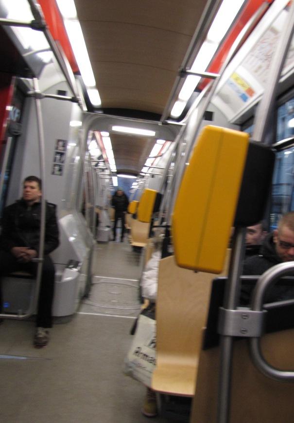 413 igor in the tram